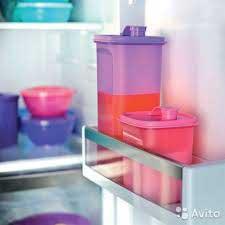 Контейнер Универсал 2л в холодильнике